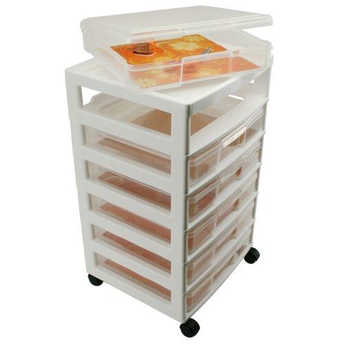 Iris Scrapbook Case Chest Storage