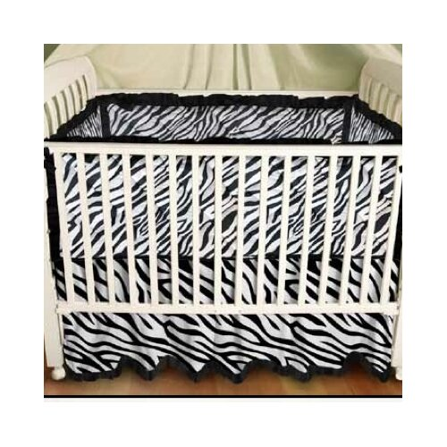Zebra Baby 2 Piece Crib Bedding Set