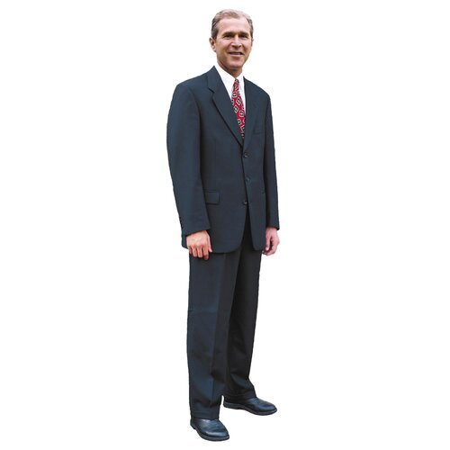 Advanced Graphics Cardboard Patriotism and Politics President George W. Standup