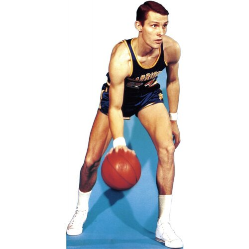 Advanced Graphics Sports Rick Barry - Dribbling Cardboard Stand-Up