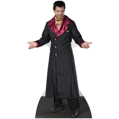 Advanced Graphics Halloween Vampire Coat Cardboard Stand-Up