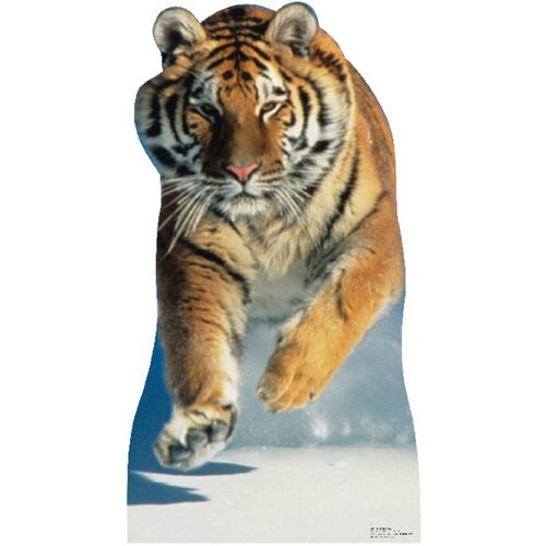 Advanced Graphics Animals Tiger Snow Cardboard Stand-Up