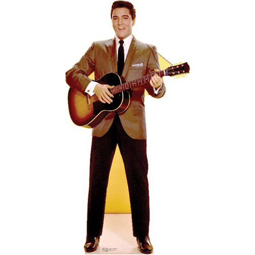 Advanced Graphics Elvis Presley Sportscoat Guitar Cardboard Stand-Up