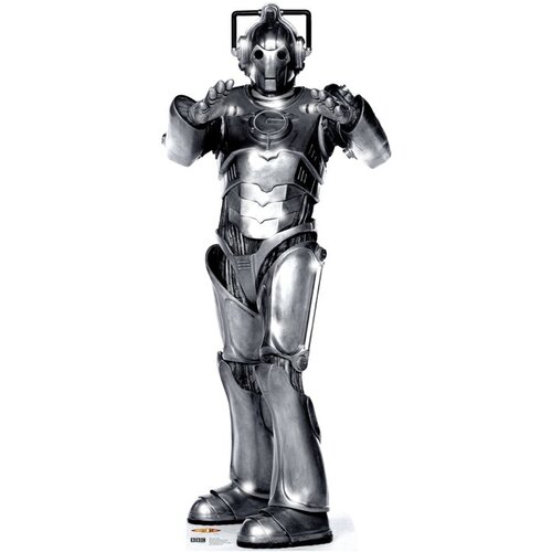 Advanced Graphics Dr. Who Cyberman Cardboard Stand-Up