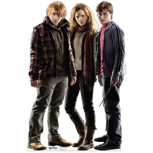 Advanced Graphics Harry Potter Ron, Hermione, Harry Cardboard Stand-Up