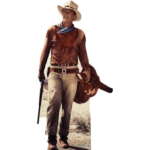Advanced Graphics Hollywood's Wild West John Wayne Cardboard Stand-Up