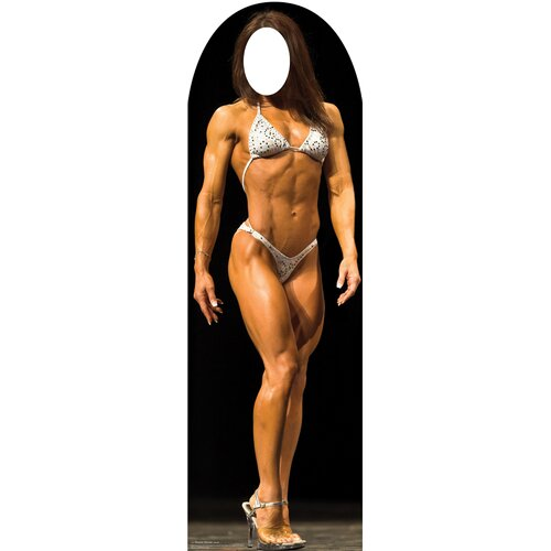 Advanced Graphics Muscle Woman Stand-In Cardboard Stand-Up