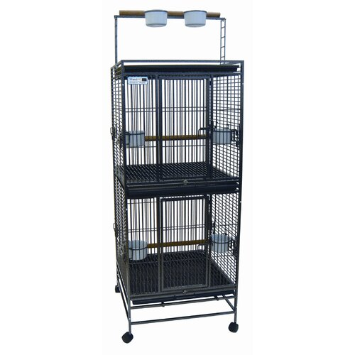 YML Play Top Double  Bird Cage