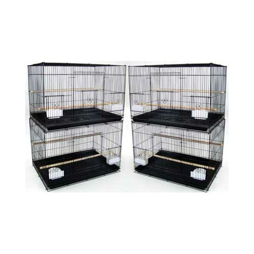 YML Lot of Four Medium Bird Cage