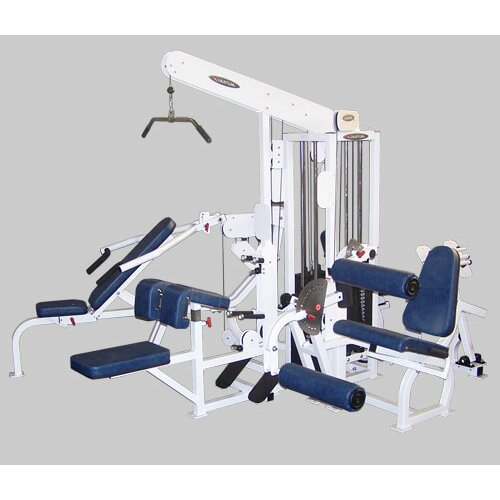 Quantum Fitness Multi-Station Commercial 4 Stack Home Gym Set