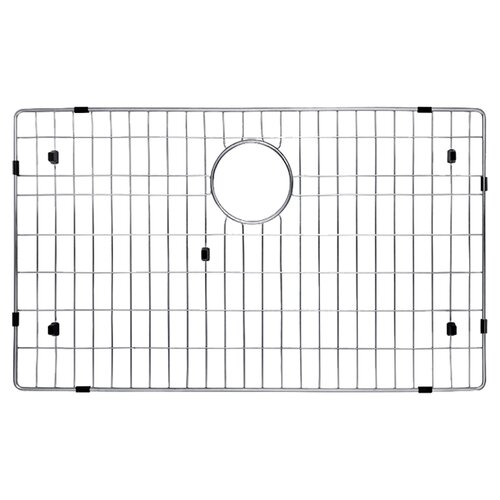 "Kraus Stainless Steel 27"" x 16"" Bottom Grid"