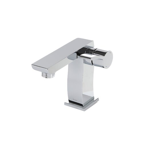Kraus Bathroom Combos Single Hole Sonus Faucet with Single Handle