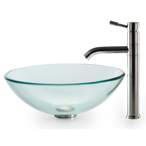 Kraus Single Hole Vessel Faucet with Single Handle