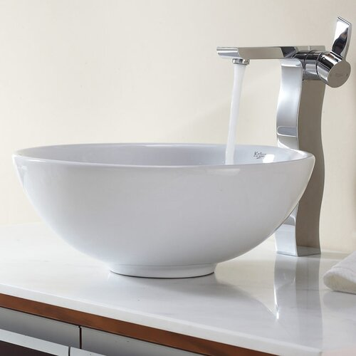Bathroom Combos Bathroom Sink with Single Handle Single Hole Waterfall Faucet