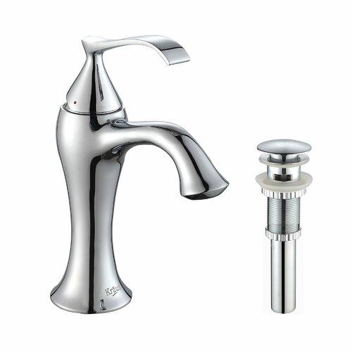 Kraus Ventus Single Hole Basin Faucet with Single Handle