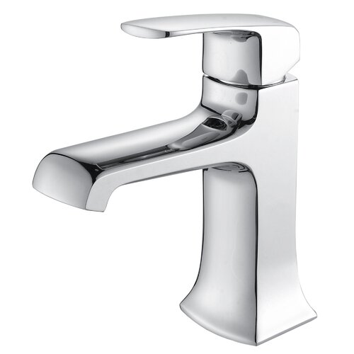 Kraus Decorum Single Lever Basin Bathroom Faucet Chrome