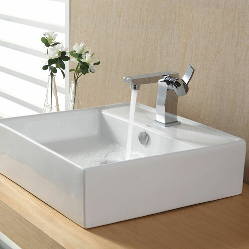 Bathroom Combos Bathroom Sink with Single Handle Single Hole Sonus Faucet