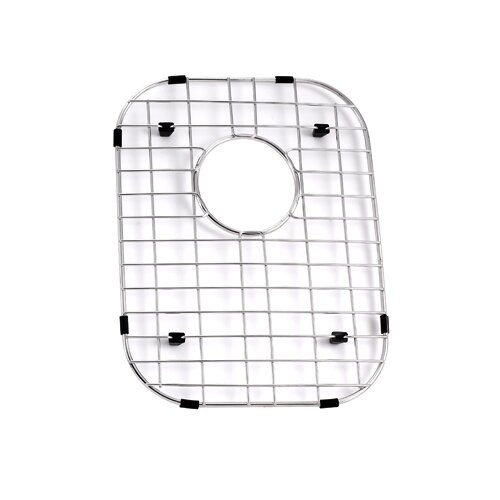 "Kraus Stainless Steel 15"" x 12"" Bottom Grid"