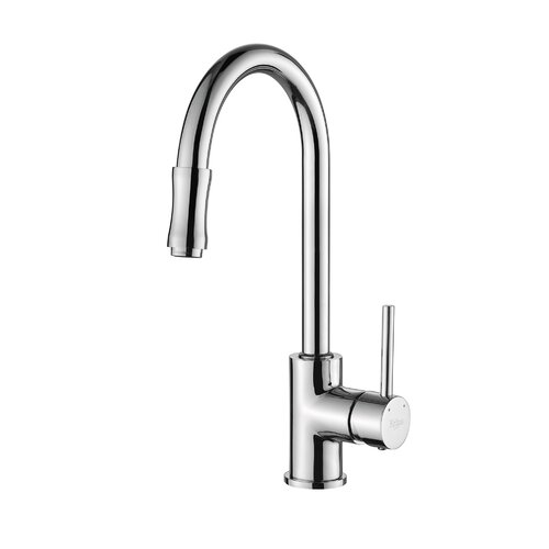 Kraus Kitchen Faucet with Lever Handle with Pull Down Hose