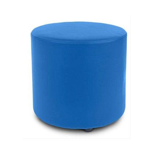 EZ Furn Blob 1 Round Ottoman in Blue