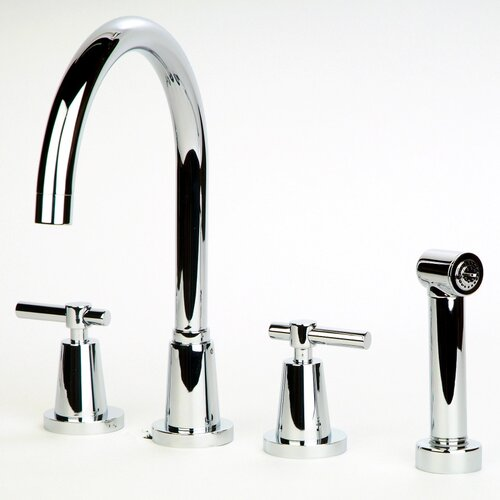 Dolo Spread Kitchen Faucet with Spray