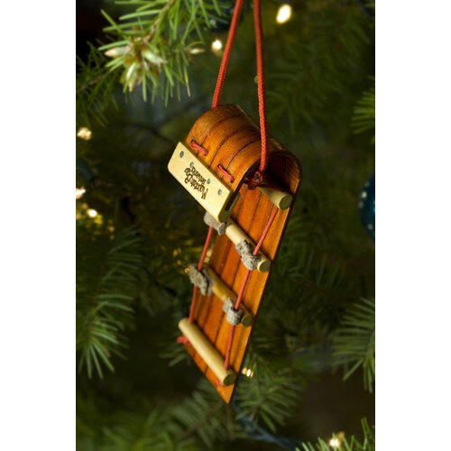 Mountain Boy Sledworks Mountain Boggan Ornament