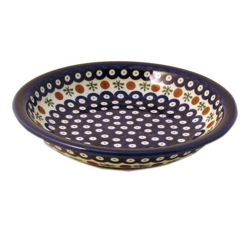 Euroquest Imports Polish Pottery Pattern 41A 20 oz. Dinner Bowl
