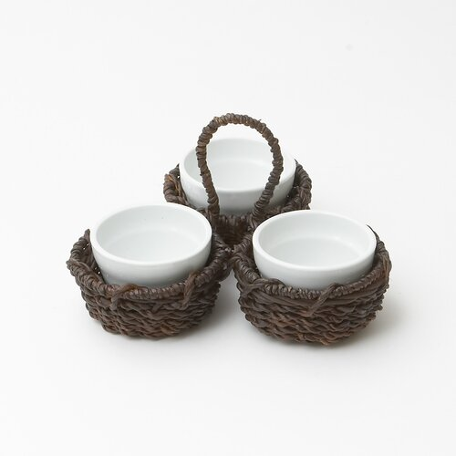 Woodard & Charles Abaca Condiment Set