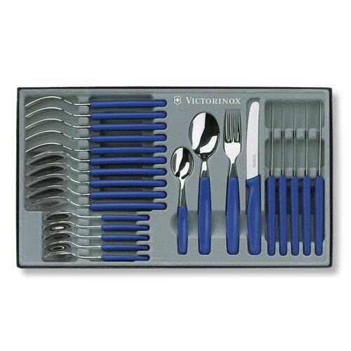 Victorinox 24 Piece Round Tip Table Set in Blue