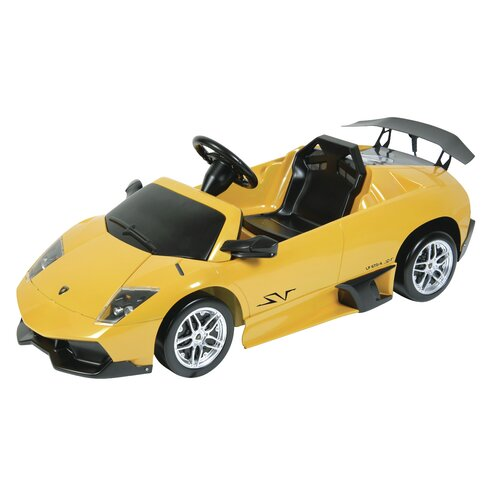 Dexton Kids Lamborghini Murcielago LP670-4 12V Battery Powered Car