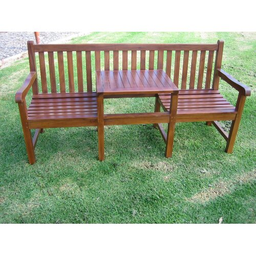 Aussie Outdoor Teak Furniture Jack N Jill Bench