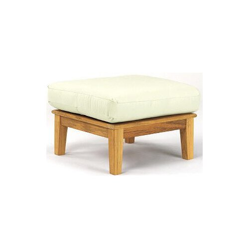 Aussie Outdoor Teak Furniture Lola Ottoman with Cushion
