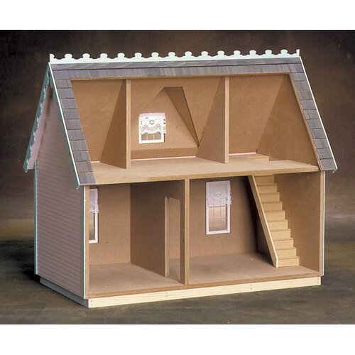 Real Good Toys Victorian Cottage Jr. in Milled Plywood