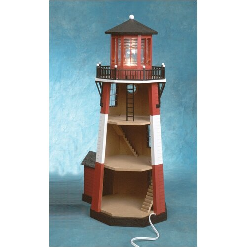 Real Good Toys Half-Inch Scale Kits New England Lighthouse Dollhouse Kit