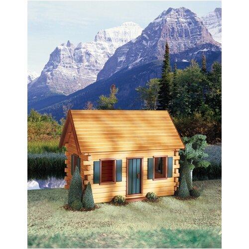 Quickbuild Kits Crockett's Cabin Dollhouse