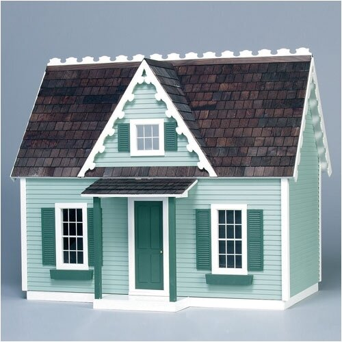 Finished & Ready to Play Doll House Junior Victorian Cottage
