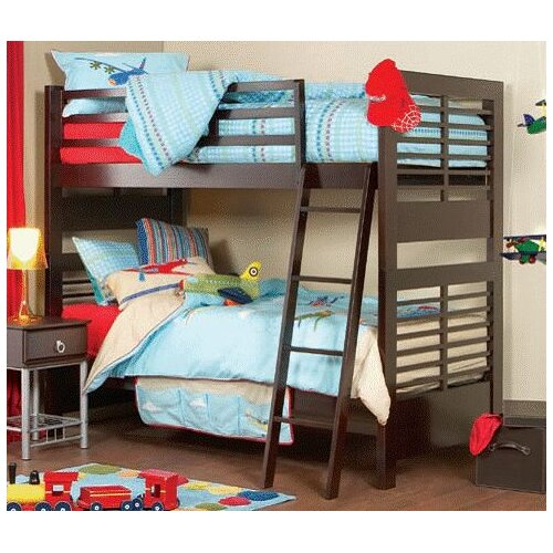 Cooper Furniture Yoko Single Bunk Bed in Chestnut