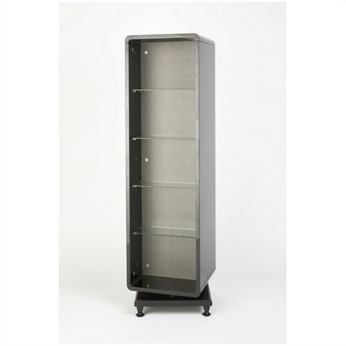 Ubuild Swivel Base CD/DVD High Gloss Storage Tower