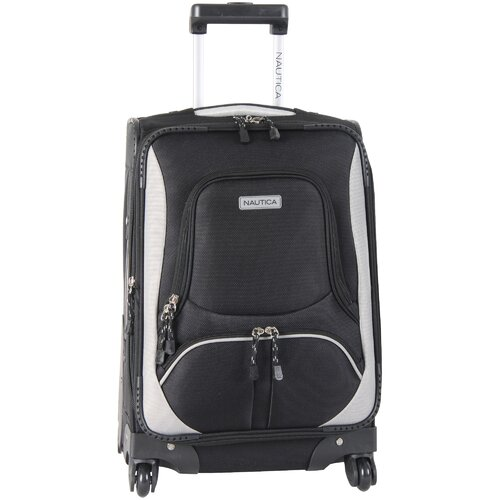 "Nautica Downhaul 20"" Expandable Spinner Suitcase"