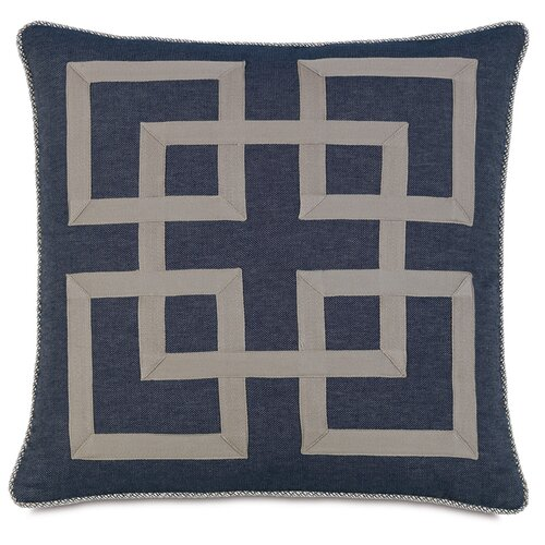 Ryder Strauss Denim Graphic Accent Pillow