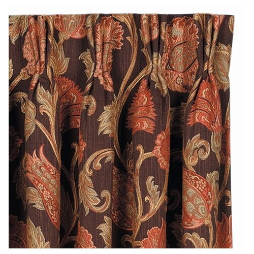 Eastern Accents Hayworth Cotton Rod Pocket Curtain Single Panel