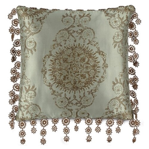 Marbella Marbella Pillow with Lace Trim