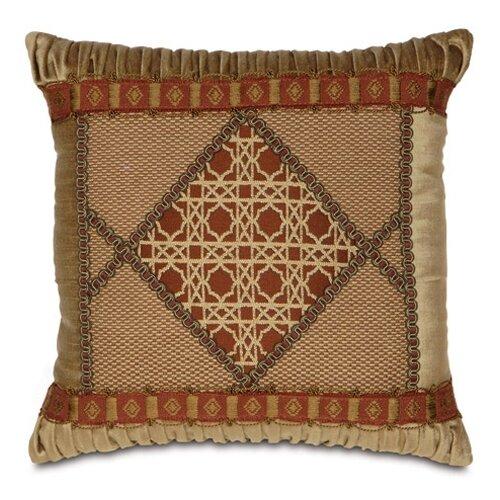 Eastern Accents Toulon Ravello Spice Diamond Collage Pillow