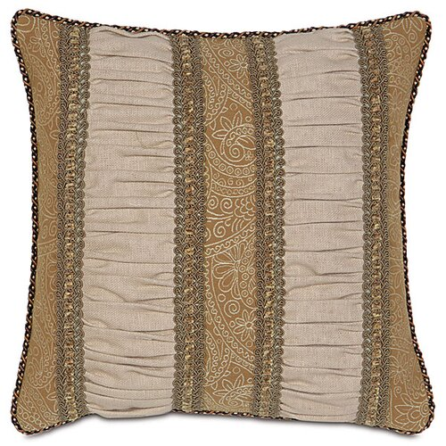 Eastern Accents Aston Polyester Filly Ruched Inserts Decorative Pillow