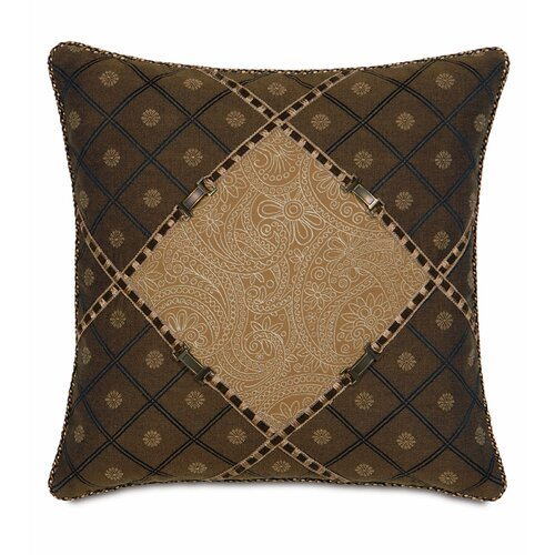 Eastern Accents Aston Polyester Leinster Diamond Decorative Pillow