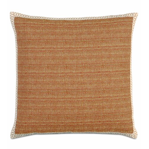 Eastern Accents Caicos Polyester Stark Sunset Decorative Pillow with Gimp
