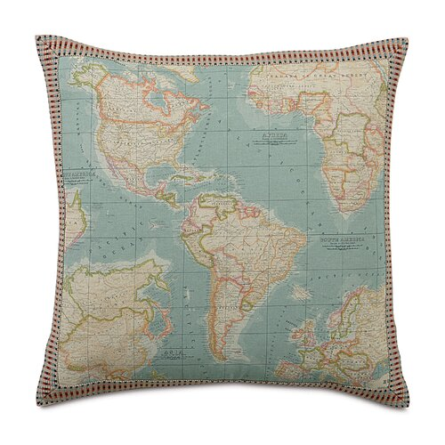 Kai Monde Border Decorative Pillow
