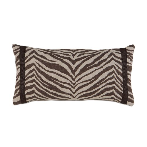 Shamwari Polyester Decorative Pillow with Gimp
