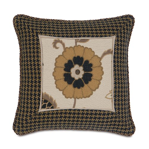 Aston Polyester Decorative Pillow with Mitered Corners