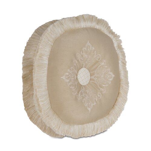 Brookfield Polyester Embroidered Tambourine Decorative Pillow